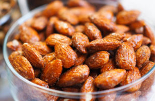 Asian Spiced Fried Almonds
